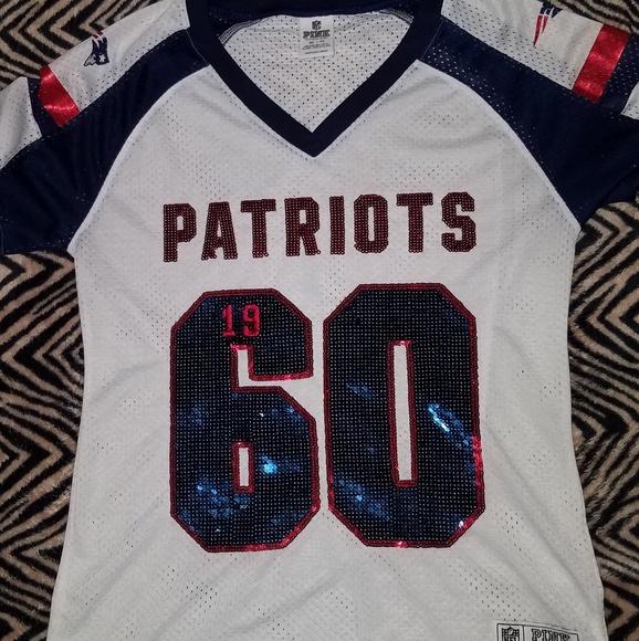 Vs Pink NFL Patriots Jersey. M 5b7cd16cd6dc52ce315ac0f0 7d74575b6
